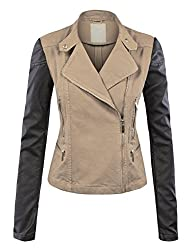 Lock and Love Faux Leather Jackets