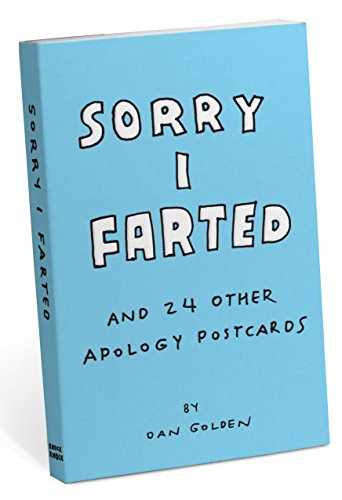 Knock Knock Sorry I Farted and 24 Other Apology Postcards by Knock Knock