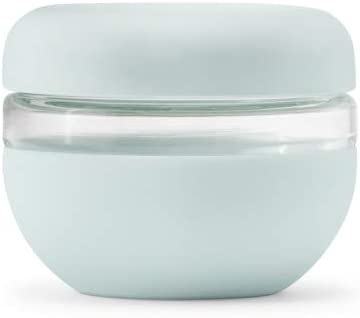 W&P Porter Seal Tight Glass Lunch Bowl Container w/ Lid | Mint 16 Ounces | Leak & Spill Proof, Soup & Stew Food Storage, Meal Prep, Airtight, Microwave and Dishwasher Safe, BPA-Free Glass