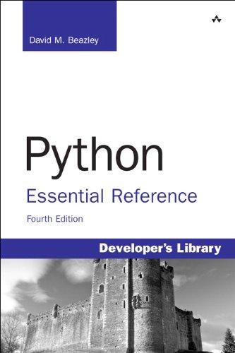 Python Essential Reference: Python Essentia Referenc _4 (Developer's ()