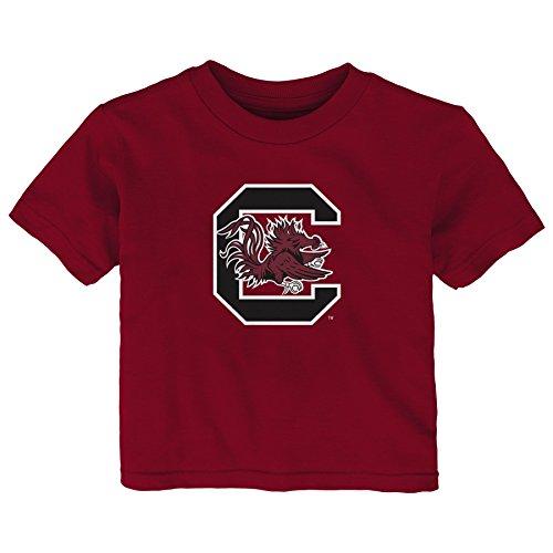 NCAA South Carolina Fighting Gamecocks Infant Primary Logo Short Sleeve Tee, 24 Months, - Gamecocks Fashion South Carolina