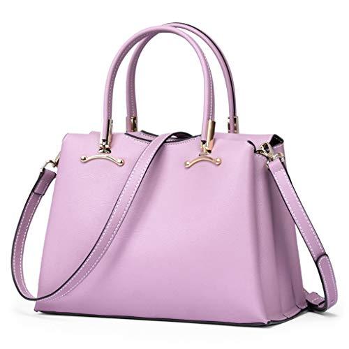 Européenne Mode ZYqi Et Américaine À La Brown Paquet en Couleur Pink Diagonale Unique gcqrwpY0qa