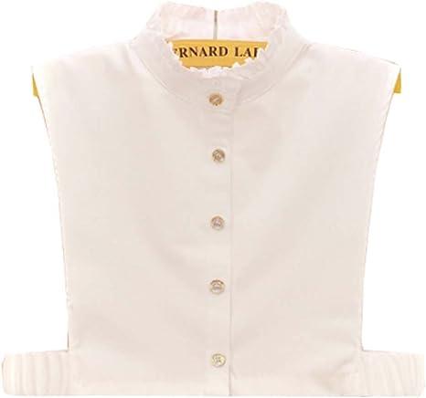Black Temptation Cuello Falso Desmontable Medias Camisas Falso Collar para niñas y Mujeres, A1: Amazon.es: Deportes y aire libre