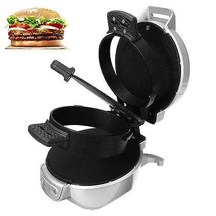Mini sandwich tostadora desayuno hornear máquina automática hamburguesa fabricante tocino huevo freír utensilios de cocina