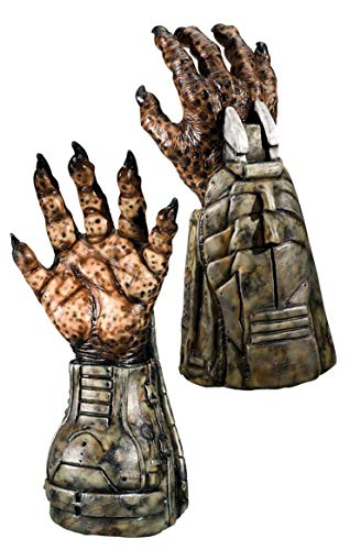 Rubie's Alien Vs Predator: Predator Deluxe Adult Latex Hands -