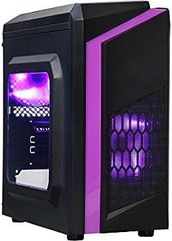 DIYPC DIY-F2-P ATX / Micro ATX Mini Tower Computer Case