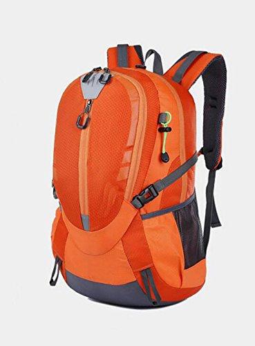 Alpinismo Al Aire Libre Mochila De Viaje 40L,Blue Orange