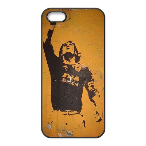 F8H48 Francesco Totti B9N7DE coque iPhone 4 4s cellulaire cas de téléphone couvercle de coque RT3SWC3WM noir