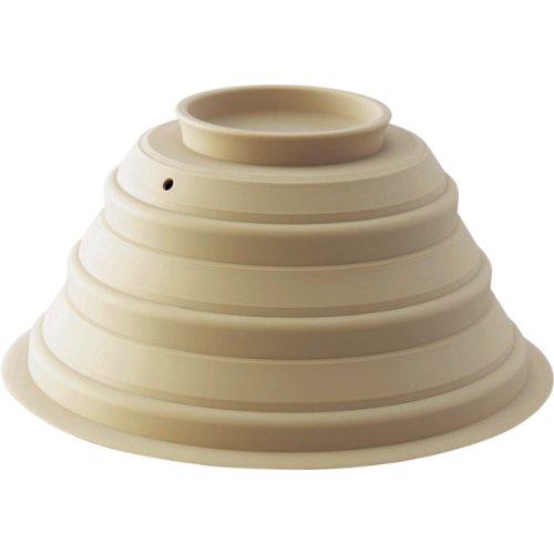 Silicon Lid for Steamer Casserole-Cream<br>