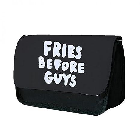 amazon com fries before guys black tumblr pencil case office