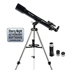 Celestron PowerSeeker telescopes are a great way to open up the wonders of the Universe to the aspiring astronomer. The PowerSeeker series is designed to give the first-time telescope user the perfect combination of quality, value, features a...
