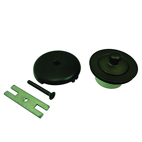 Kingston Brass DLT5301A5 Lift and Turn Tub Drain Kit, Oil-Rubbed Bronze