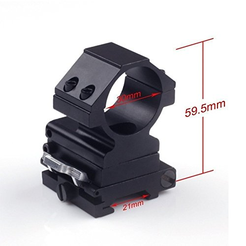 Briday 5X Magnifier FTS Flip to Side for Similar Scopes Sights Aimpoint by Briday (Image #3)