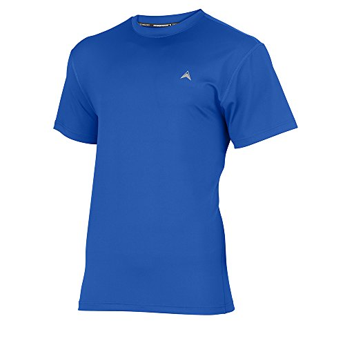 Arctic Cool Men's Solid Crew Neck Instant Cooling Shirt with UPF 50+ Sun Protection