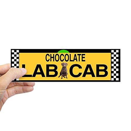 Sticker Chocolate Labrador (CafePress Chocolate Lab Bumper Sticker 10