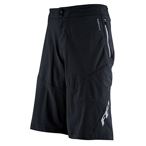 Fox Attack Q4 Short, Black,36 by Fox