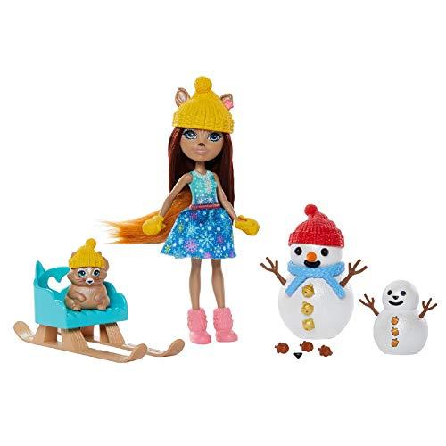 Comprar nuevas muñecas enchantimals Sharlotte Squirrel y Walnu