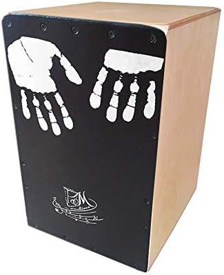Cajón Flamenco Martinez de la mano (color natural) | Caja musical de percusión afinable semiprofesional fabricada en abedul (tipo rumbera): Amazon.es: Instrumentos musicales