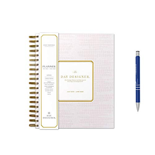 - Day Designer for Bluie Sky July 2019- June 2020 Academic Planner 9