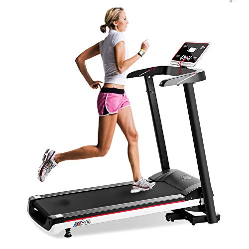 Smart Digital Treadmill Foldable Running Machine for Workout Exercise Fitness