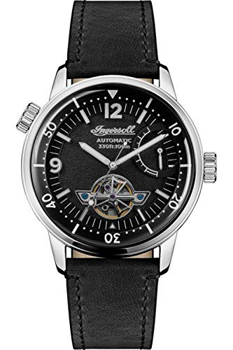 Ingersoll The New Orleans Mens Analog Automatic Watch with Leather Bracelet I07801