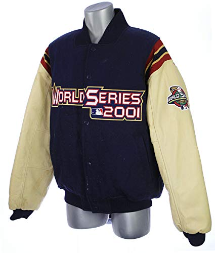 2001 Matt Williams Arizona Diamondbacks Game Worn World Series Letterman - Diamondback Jacket Lightweight