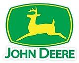 """John Deere logo sign sticker decal 5"""" x 4"""""""