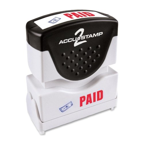 Shutter Paid Stamp with Antimicrobial