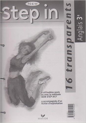 Livres New Step In : Anglais, 3e LV1 (Transparents) pdf epub