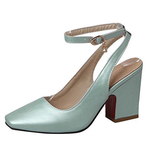 show shine s buckles chunky heel pumps dress shoes