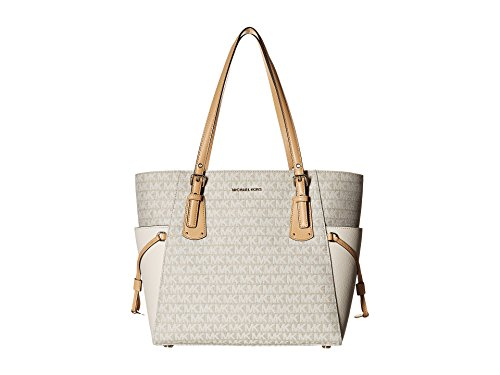 Voyager East West Sigature Tote, Natural/Light Cream/Butternut ()