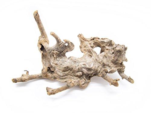 Aquatic Arts 1 Small Piece of Congo Wood Natural Aquarium Driftwood, 6-9