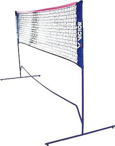 VICTOR Mini Badminton Netz -höhenverstellbar- für Federball und Tennis, 859/1/0