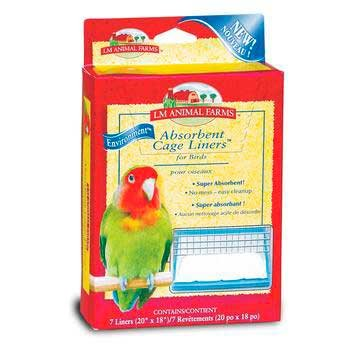 L/M Animal Farms BLM02914 Absorbent Bird Cage (Bird Liner)