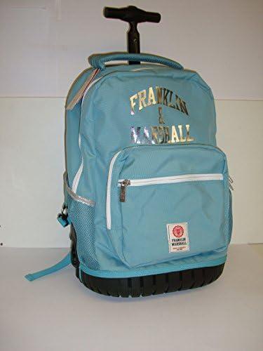 Franklin & Marshall - Bolsa escolar Celeste azul celeste: Amazon.es: Equipaje
