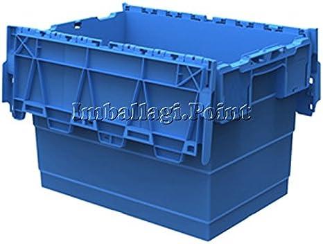 Caja Plástico Mis est 60 x 40 x 25cmvol. 46 L Multiroom apilable ...
