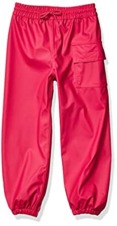 Hatley Unisex-Child Splash Pants Rain Pants - Pink - 2 Years