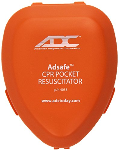 ADC Adsafe CPR Mask Pocket Resuscitator Kit