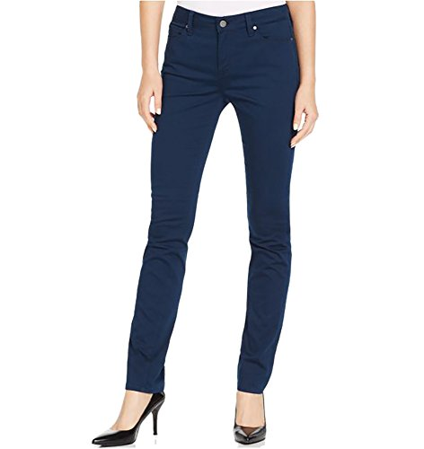 Calvin Klein Jeans Women's Ultimate Skinny Power Stretch Corduroy Pant, Submerge Navy, Size ()
