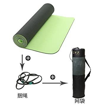 Los tacos de la estera del yoga fitness colchonetas para ...