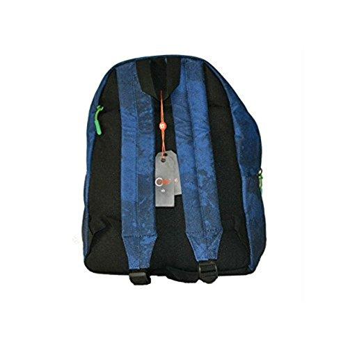 e9c7011a1a Zaino Y Not Me B 20 Blu Navy con porta tablet - greenbayballstrikers.com
