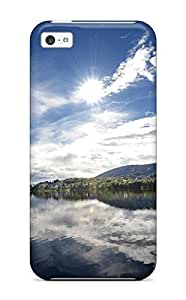 Hot Style DFzZlaf13029jRlku Protective Case Cover For Iphone5c(mirror Lake)