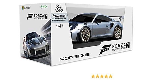 GameStop Exclusive Forza Motorsport 7 2018 Porsche 911 GT2 RS scale model  (1:43)