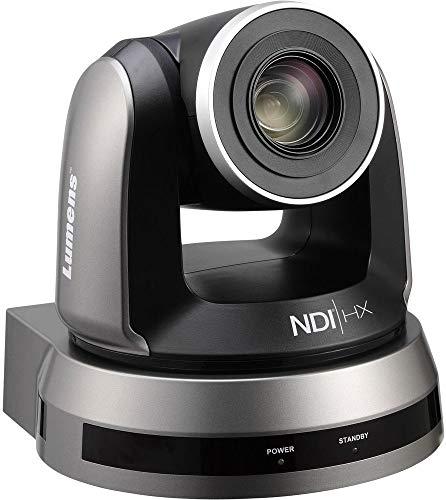 Lumens VC-A50PNB HD Pan/Tilt/Zoom (PTZ) IP Camera with NDI, Black, 1/2.8