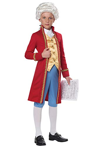 California Costumes Classical Composer/Amadeus Child Costume-Large