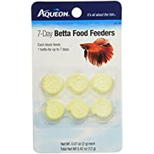 Aqueon Betta Food Feeder, 7-Day, 6-Pack