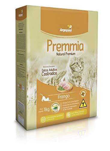 Ração Seca Premmia para Gatos Castrados Sabor Frango -1kg