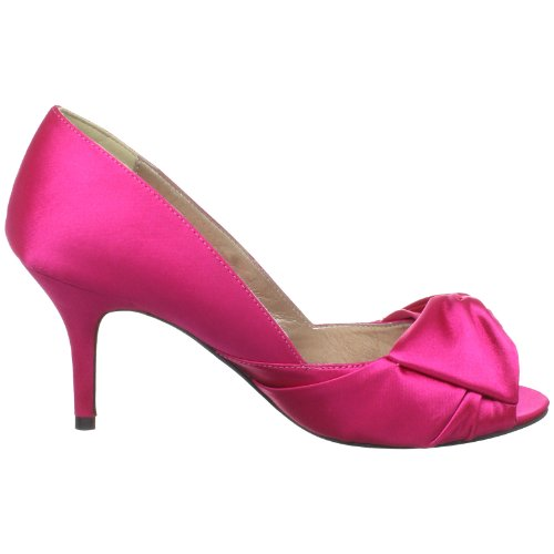 Luichiny Womens Best One Yet Peep-Toe Pump Fuchsia oqYW5q78th