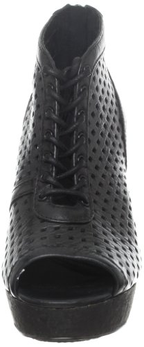 Negro para Koolaburra mujer B S3BEC Becks de Black Schwarz Plataformas cuero 0xq0rXv