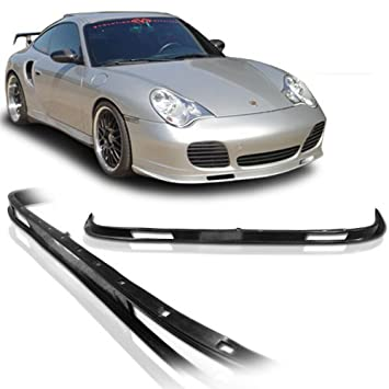 Porsche 996 911 OE Estilo borde de uretano parachoques delantero Chin Spoiler para modelos 01 - 05: Amazon.es: Coche y moto